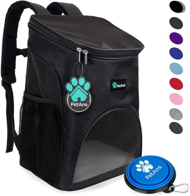 Petami Deluxe Pet Carrier Backpack